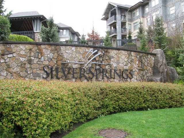 "Main Photo: 207 2988 SILVER SPRINGS Boulevard in Coquitlam: Westwood Plateau Condo for sale in ""TRILLIUM"" : MLS®# V835525"