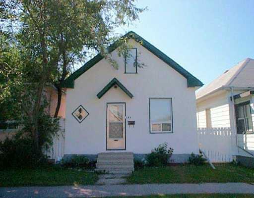 Main Photo: 181 DES MEURONS Rue in WINNIPEG: St Boniface Single Family Detached for sale (South East Winnipeg)  : MLS®# 2512715