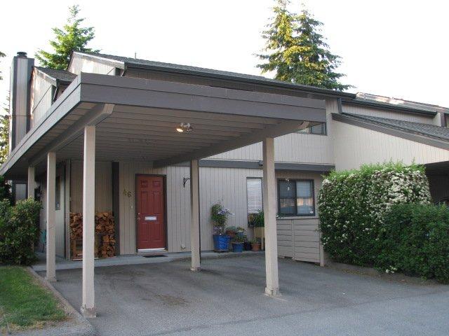 "Main Photo: 46 6712 BAKER Road in Delta: Sunshine Hills Woods Townhouse for sale in ""SUNRIDGE ESTATES"" (N. Delta)  : MLS®# F2912502"