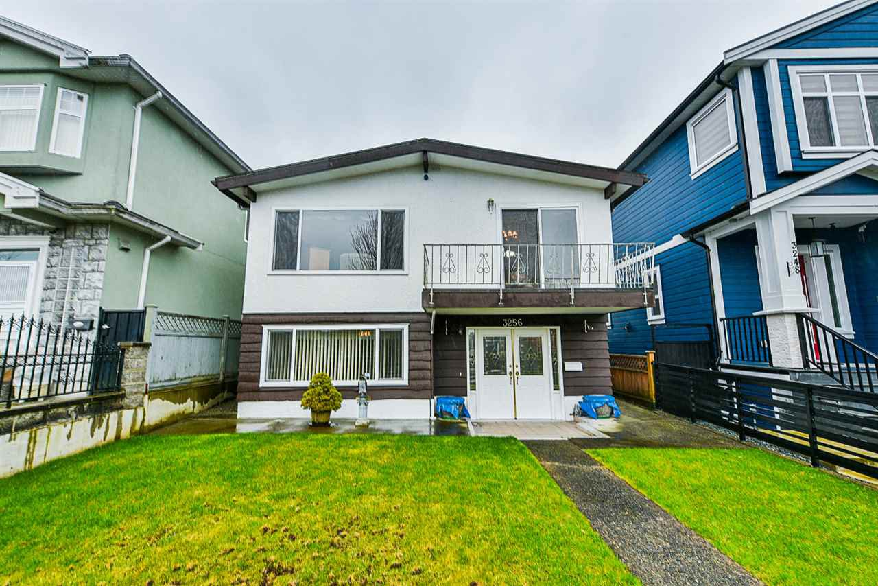 Main Photo: 3256 GRANT STREET in Vancouver: Renfrew VE House for sale (Vancouver East)  : MLS®# R2443230