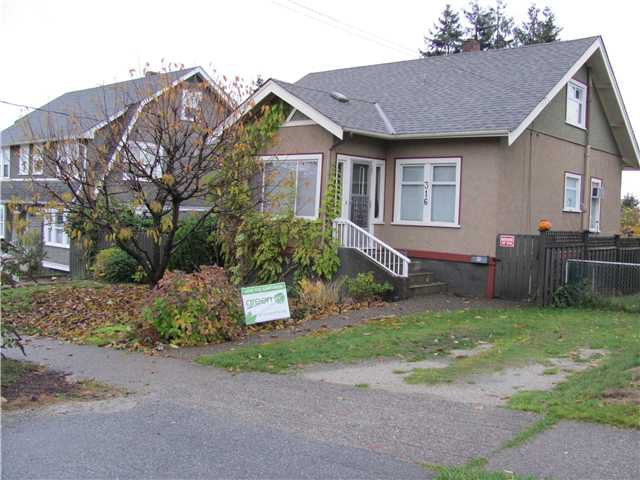 Main Photo: 316 SIMPSON Street in New Westminster: Sapperton House for sale : MLS®# V860026