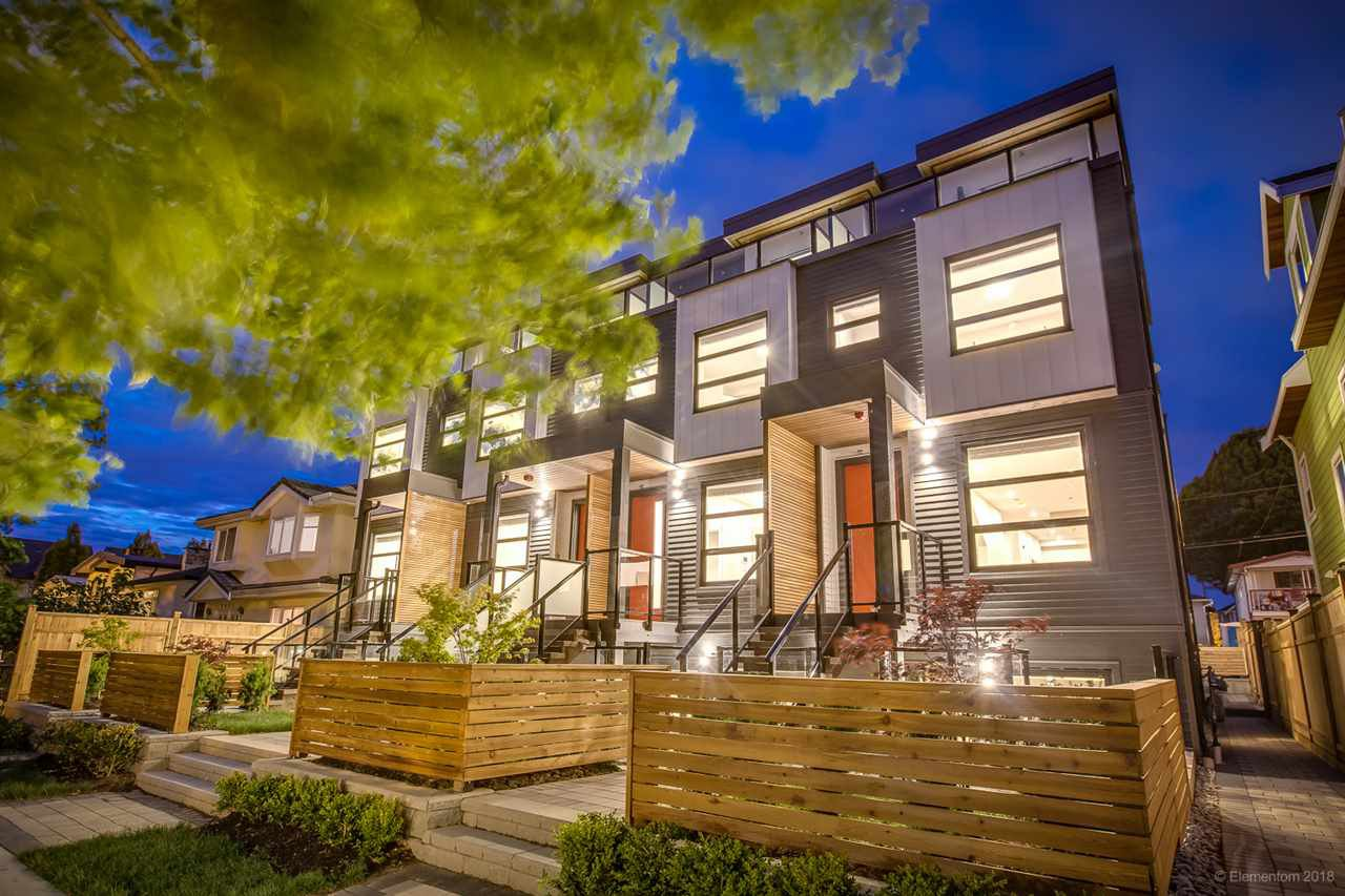 Main Photo: 2629 DUKE Street in Vancouver: Collingwood VE Townhouse for sale (Vancouver East)  : MLS®# R2428651