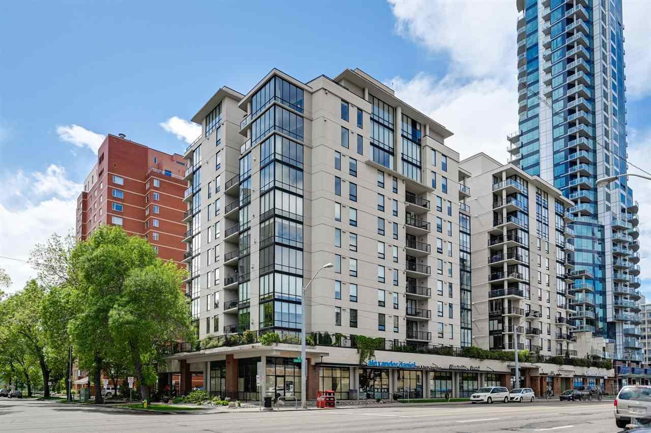 Main Photo: 701 10028 119 Street in Edmonton: Zone 12 Condo for sale : MLS®# E4219191