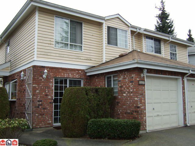 """Main Photo: 126 12233 92ND Avenue in Surrey: Queen Mary Park Surrey Townhouse for sale in """"ORCHARD LAKE"""" : MLS®# F1007573"""