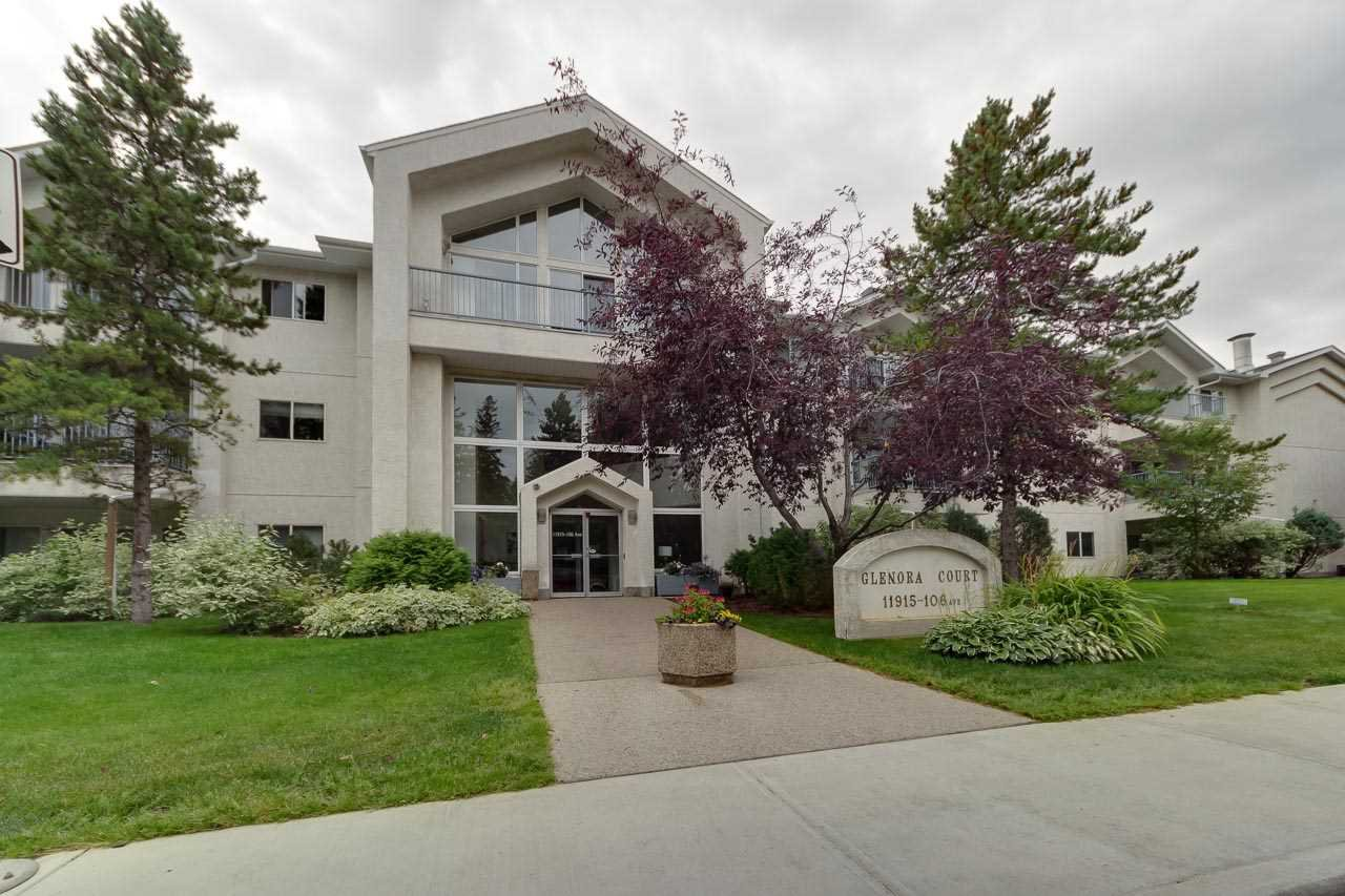 Main Photo: 206 11915 106 Avenue in Edmonton: Zone 08 Condo for sale : MLS®# E4173288