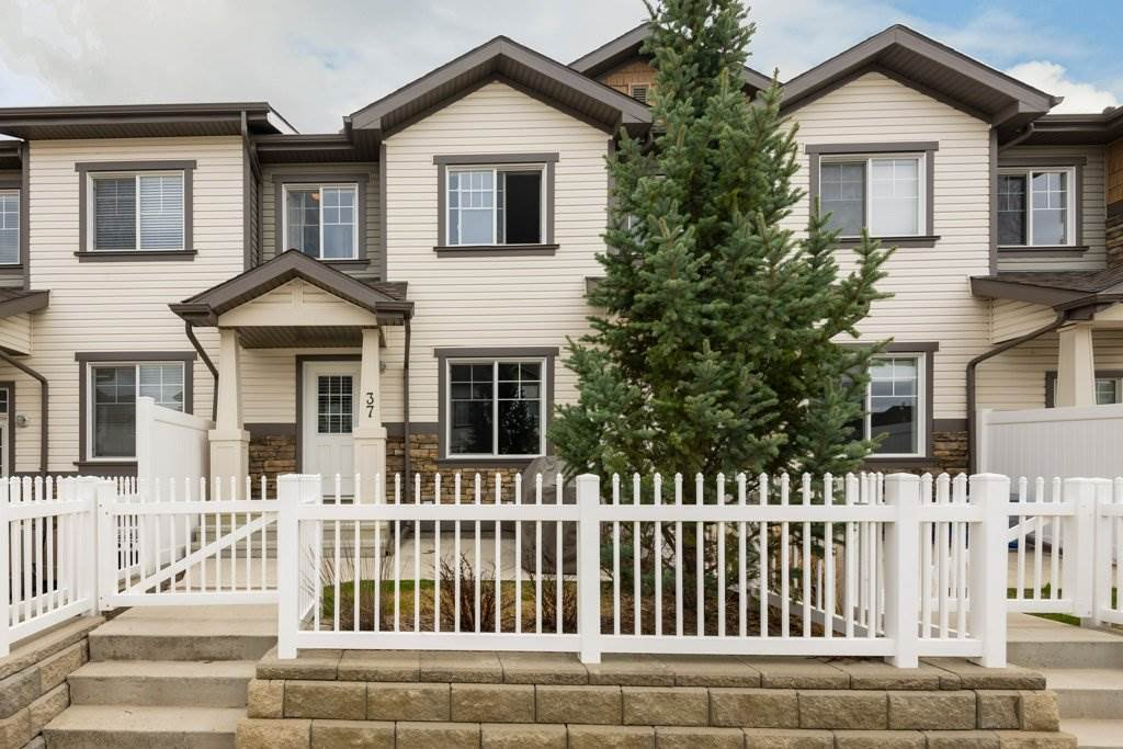 Main Photo: 37 4850 Terwillegar Common in Edmonton: Zone 14 Townhouse for sale : MLS®# E4197395
