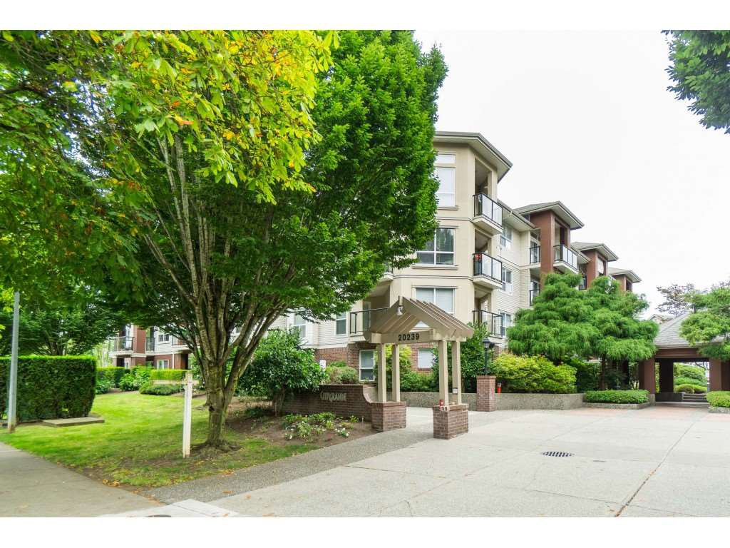 "Main Photo: 108 20239 MICHAUD Crescent in Langley: Langley City Condo for sale in ""CITY GRANDE"" : MLS®# R2494480"