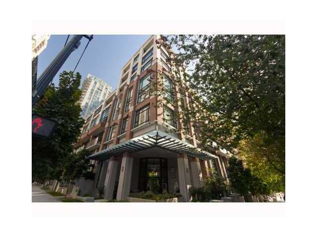 """Main Photo: 306 988 RICHARDS Street in Vancouver: Downtown VW Condo for sale in """"TRIBECA LOFTS"""" (Vancouver West)  : MLS®# V839608"""