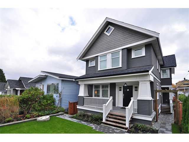 Main Photo: 1370 E 13TH Avenue in Vancouver: Grandview VE House 1/2 Duplex for sale (Vancouver East)  : MLS®# V856912