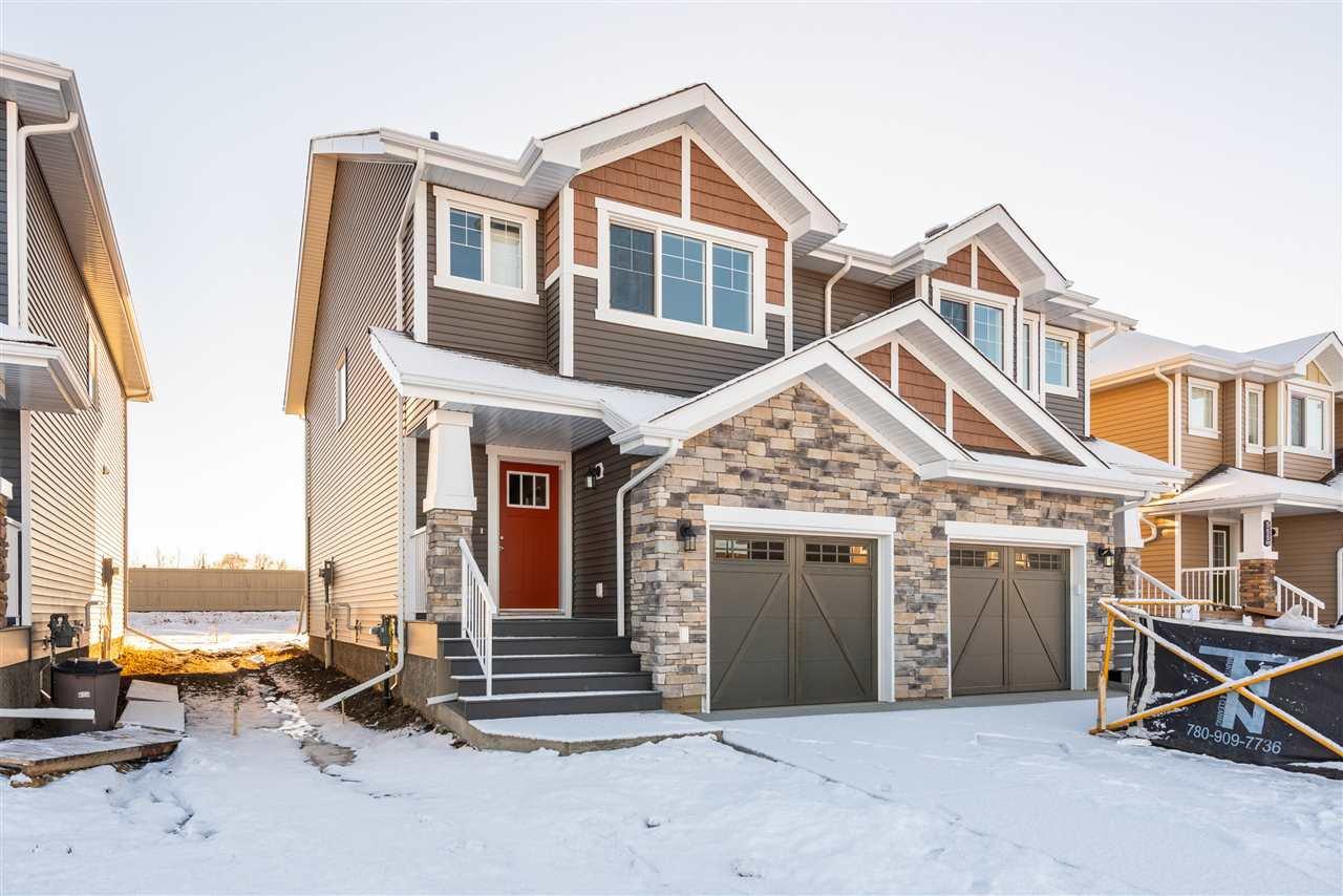 Main Photo: 559 Ebbers Way in Edmonton: Zone 02 House Half Duplex for sale : MLS®# E4180643