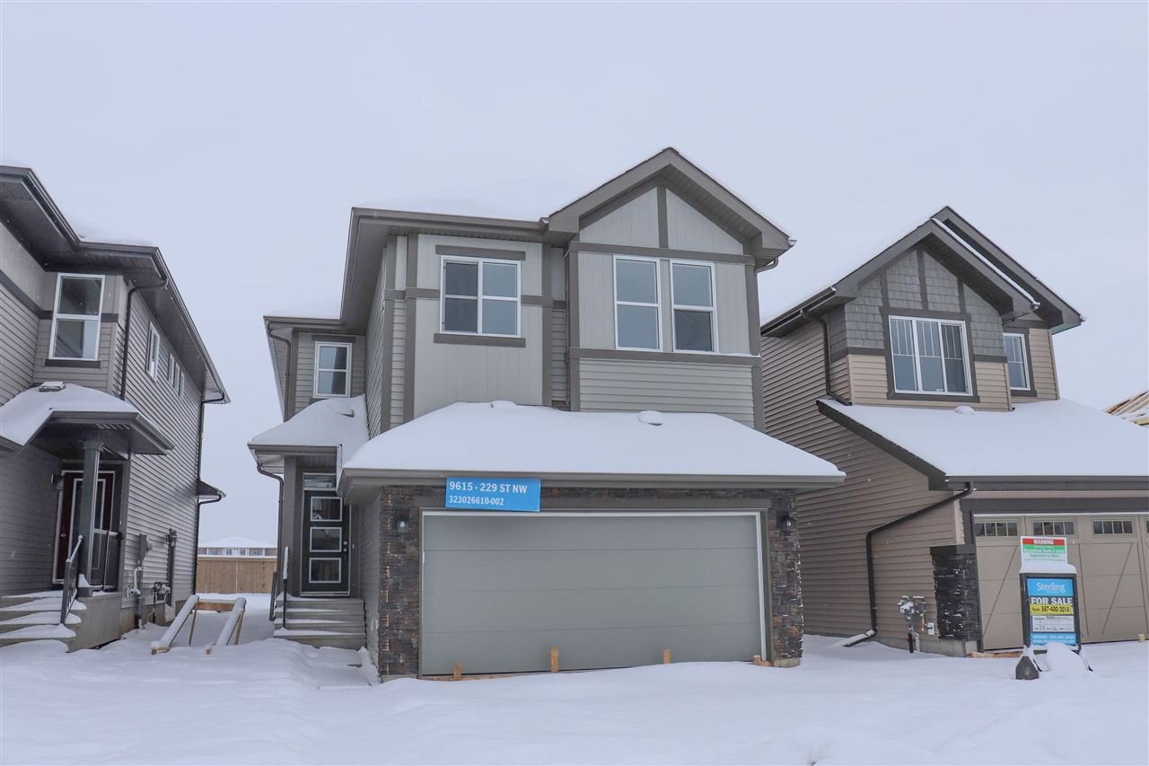 Main Photo: 9615 229 Street NW in Edmonton: Zone 58 House for sale : MLS®# E4186729
