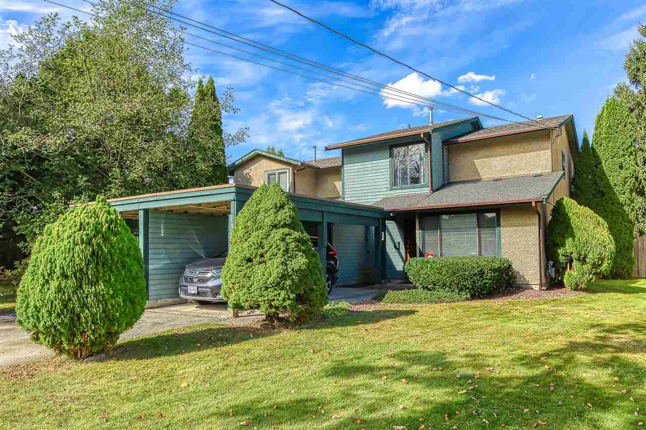 "Main Photo: 13457 68A Avenue in Surrey: West Newton 1/2 Duplex for sale in ""Bentley"" : MLS®# R2500943"