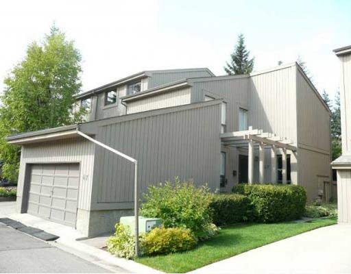 End unit with double attached garage!