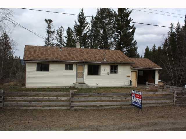 Main Photo: 606 HULL Road in Williams Lake: Esler/Dog Creek House for sale (Williams Lake (Zone 27))  : MLS®# N199370