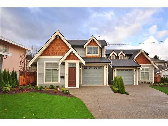 Main Photo: 6165 WALKER Avenue in Burnaby: Upper Deer Lake 1/2 Duplex for sale (Burnaby South)  : MLS®# V858057