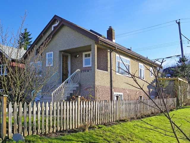 Main Photo: 2504 PARKER Street in Vancouver: Renfrew VE House for sale (Vancouver East)  : MLS®# V867913