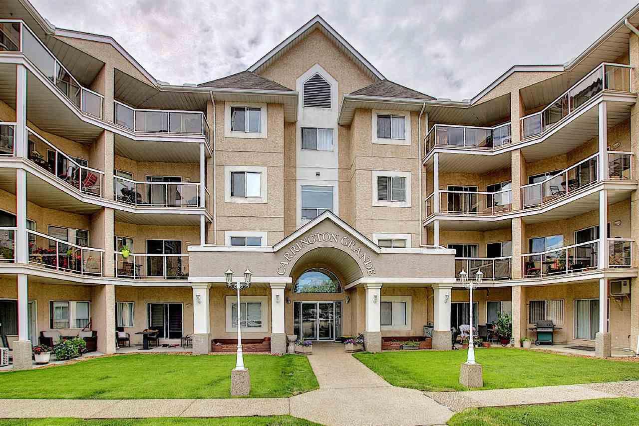 Main Photo: 216 17459 98A Avenue in Edmonton: Zone 20 Condo for sale : MLS®# E4210210