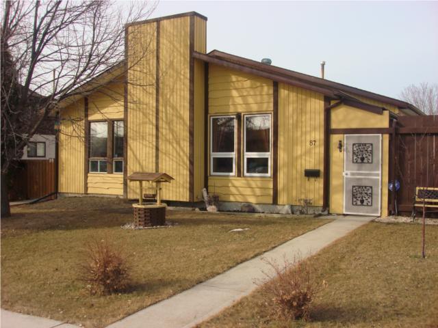 Main Photo: 87 Grandmont Boulevard in WINNIPEG: Fort Garry / Whyte Ridge / St Norbert Residential for sale (South Winnipeg)  : MLS®# 1004447