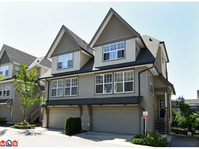 "Main Photo: 59 8089 209TH Street in Langley: Willoughby Heights Townhouse for sale in ""Arborel Park"" : MLS®# F1020362"