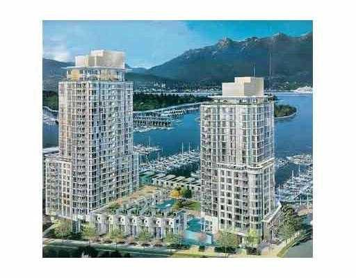 "Main Photo: 1704 590 NICOLA ST in Vancouver: Coal Harbour Condo for sale in ""CASCINIA"" (Vancouver West)  : MLS®# V569289"
