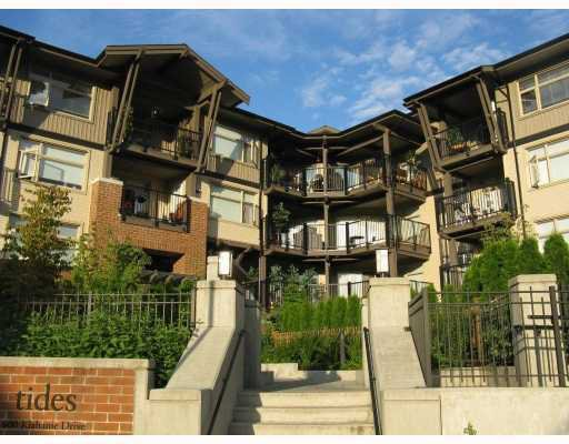 "Main Photo: 310 400 KLAHANIE Drive in Port_Moody: Port Moody Centre Condo for sale in ""TIDES"" (Port Moody)  : MLS®# V768282"
