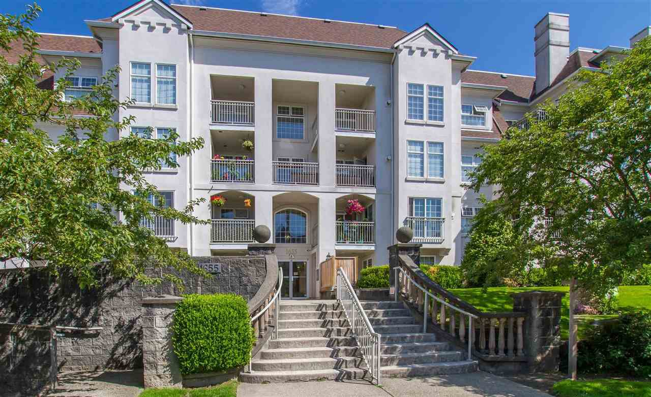 "Main Photo: 412 1655 GRANT Avenue in Port Coquitlam: Glenwood PQ Condo for sale in ""The Benton"" : MLS®# R2402229"