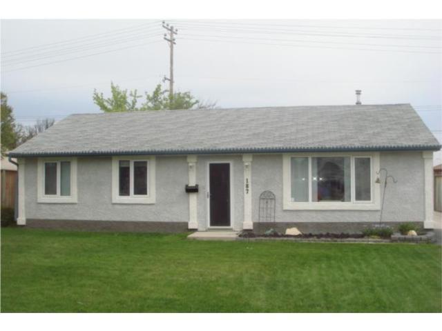 Main Photo: 187 Braintree Crescent in WINNIPEG: St James Residential for sale (West Winnipeg)  : MLS®# 1009301