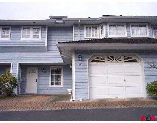 "Main Photo: 122 16335 14 AV in SURREY: King George Corridor Townhouse for sale in ""PEBBLE CREEK"" (South Surrey White Rock)  : MLS®# F2005280"