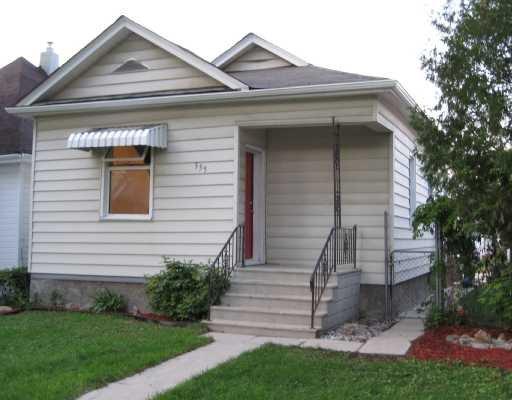 Main Photo: 355 ATLANTIC Avenue in WINNIPEG: North End Residential for sale (North West Winnipeg)  : MLS®# 2816062