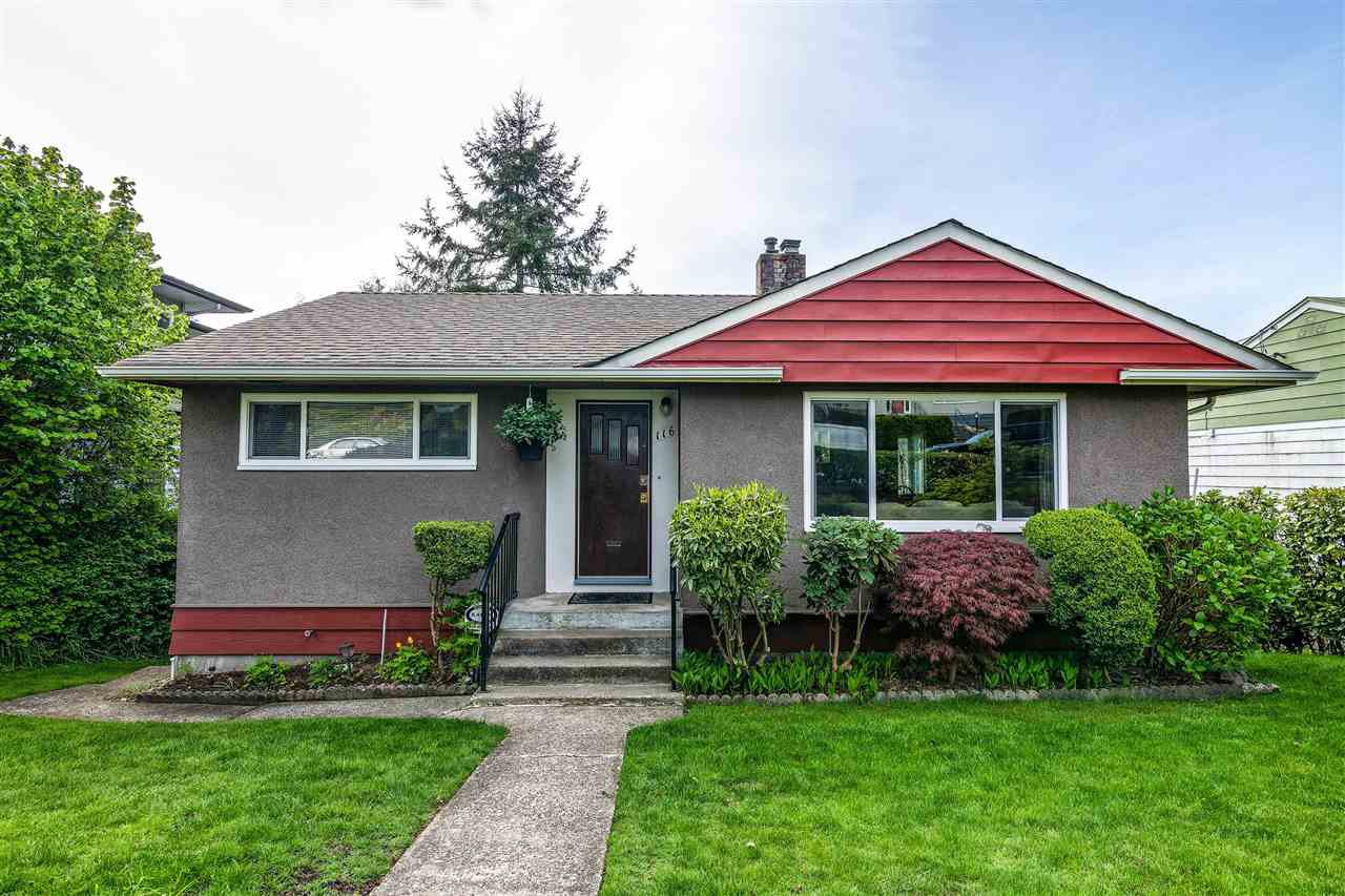 Photo 1: Photos: 116 GLOVER Avenue in New Westminster: GlenBrooke North House for sale : MLS®# R2394361