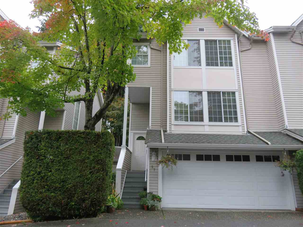 Main Photo: 27 2600 BEAVERBROOK CRESCENT in Burnaby: Simon Fraser Hills Townhouse for sale (Burnaby North)  : MLS®# R2411470