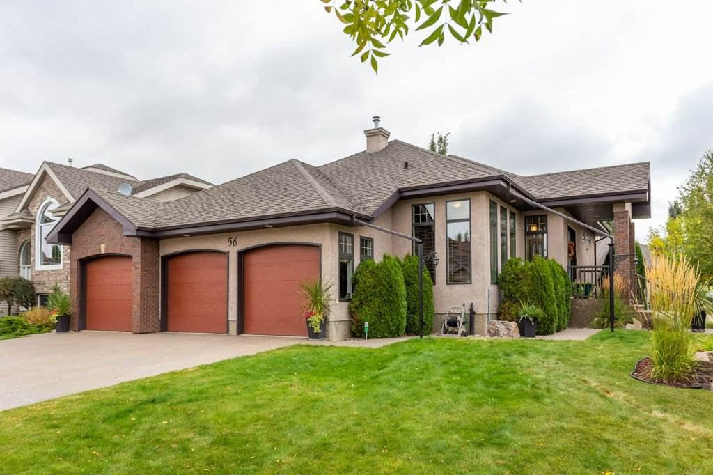 Main Photo: 56 Lauralcrest Place: St. Albert House for sale : MLS®# E4214530