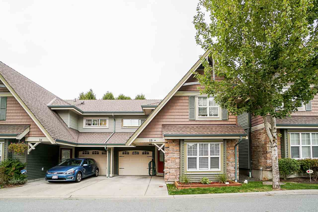 """Main Photo: 15 22977 116 Avenue in Maple Ridge: East Central Townhouse for sale in """"Duet"""" : MLS®# R2509222"""