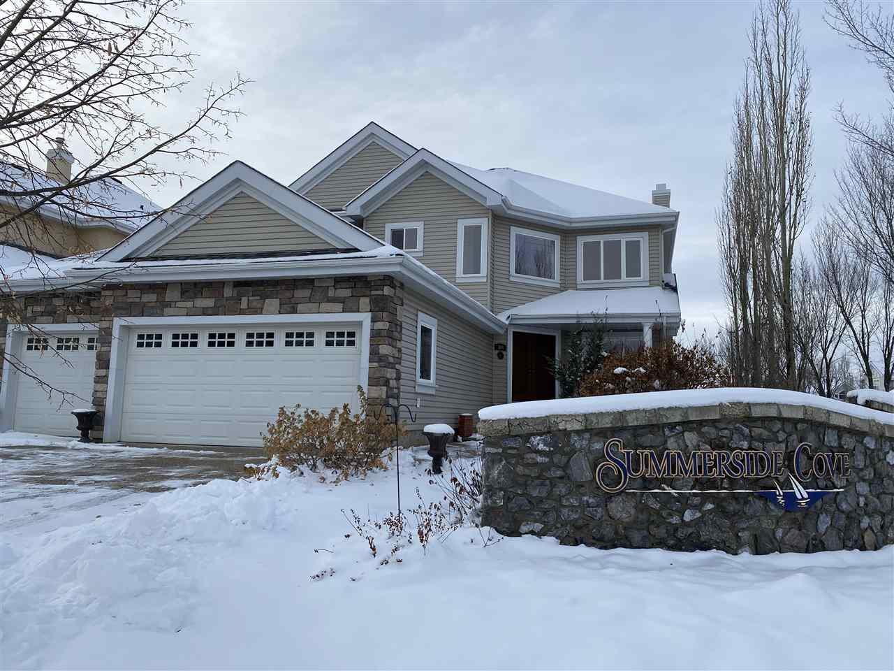 Main Photo: 304 SUMMERSIDE Cove in Edmonton: Zone 53 House for sale : MLS®# E4219128