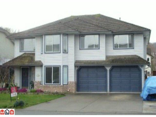 Main Photo: 35470 EDSON Place in Abbotsford: Abbotsford East House for sale : MLS®# F1007268