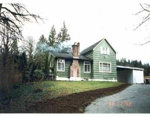 Main Photo: 27407 112TH AV in Maple Ridge: Whonnock House for sale : MLS®# V565316