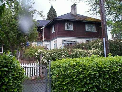 Main Photo: 2500 W 37TH AV in Vancouver: Kerrisdale House for sale (Vancouver West)  : MLS®# V588236