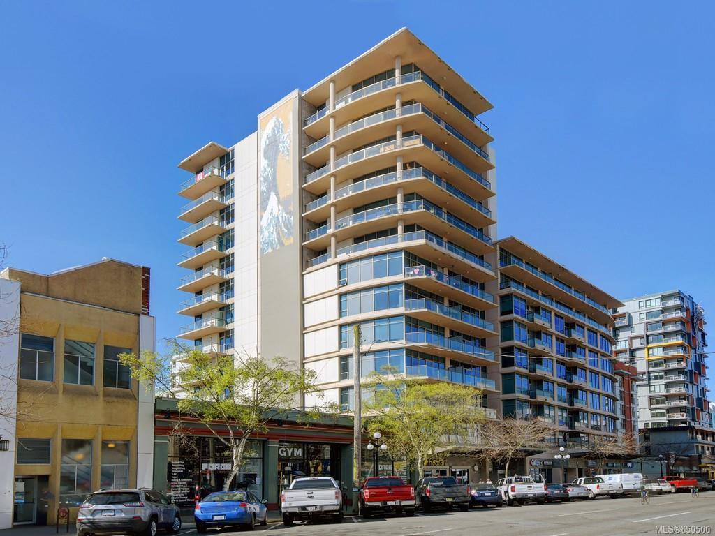 Main Photo: 408 845 Yates St in : Vi Downtown Condo Apartment for sale (Victoria)  : MLS®# 850500