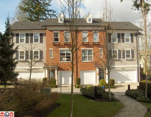"Main Photo: 50 15075 60TH Avenue in Surrey: Sullivan Station Townhouse for sale in ""Natures Walk"" : MLS®# F1005053"