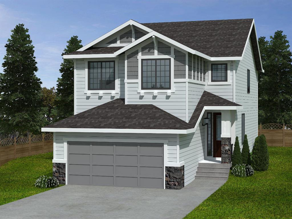 Front elevation for illustration purposes. Actual elevation may be different from this rendering.