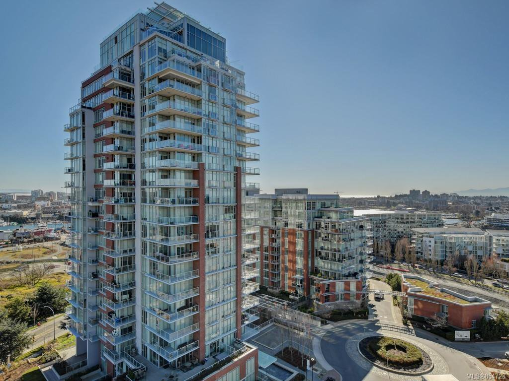 Main Photo: 1502 83 Saghalie Rd in : VW Songhees Condo for sale (Victoria West)  : MLS®# 854728