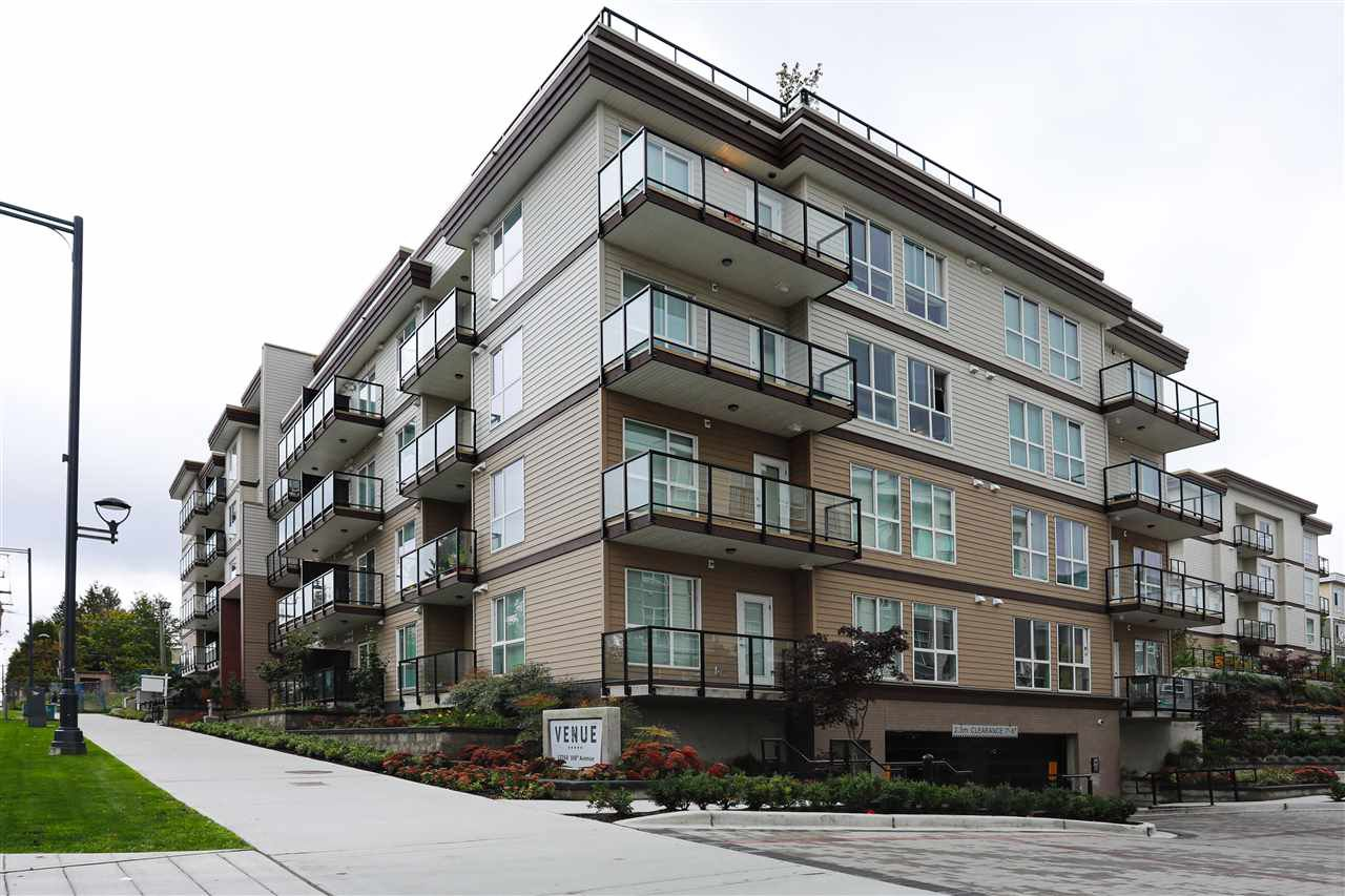 "Main Photo: 422 13768 108 Avenue in Surrey: Whalley Condo for sale in ""VENUE"" (North Surrey)  : MLS®# R2405372"
