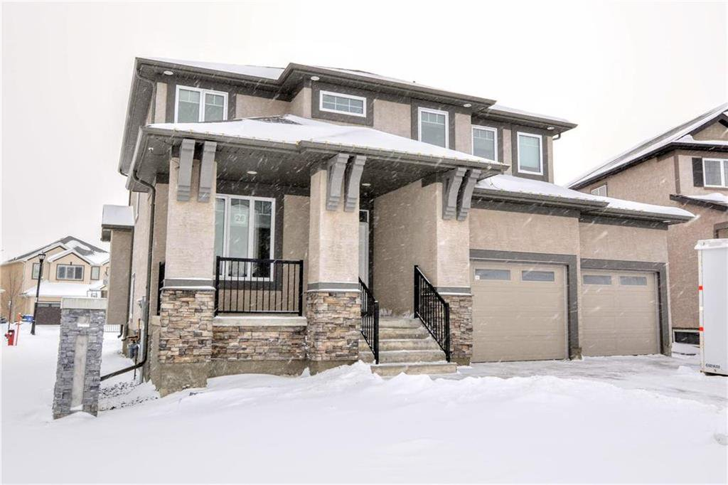 Main Photo: 26 Birchleaf Point in Winnipeg: Bridgwater Lakes Residential for sale (1R)  : MLS®# 202001189