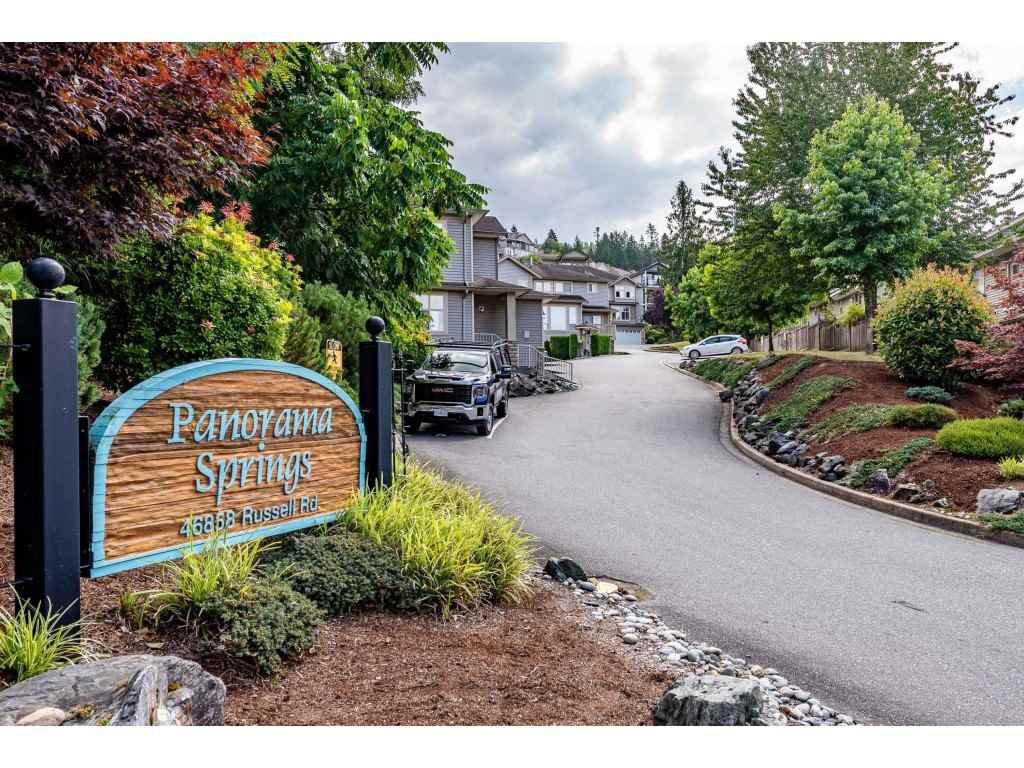 Main Photo: 20 46858 RUSSELL Road in Chilliwack: Promontory Townhouse for sale (Sardis)  : MLS®# R2486035
