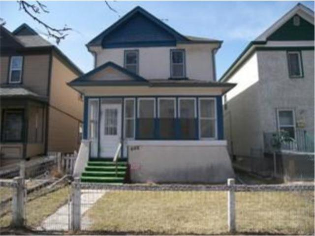 Main Photo: 488 Simcoe Street in WINNIPEG: West End / Wolseley Residential for sale (West Winnipeg)  : MLS®# 1006364