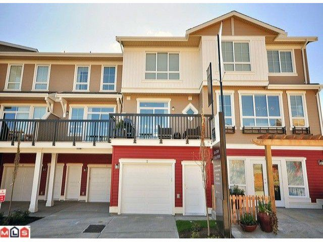 """Photo 10: Photos: 3 19505 68A Avenue in Surrey: Clayton Townhouse for sale in """"CLAYTON RISE"""" (Cloverdale)  : MLS®# F1014111"""