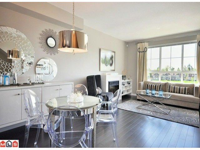 """Photo 3: Photos: 3 19505 68A Avenue in Surrey: Clayton Townhouse for sale in """"CLAYTON RISE"""" (Cloverdale)  : MLS®# F1014111"""