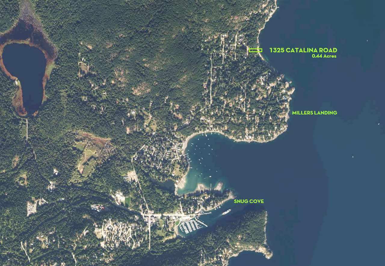 Main Photo: 1325 CATALINA Road: Bowen Island Land for sale : MLS®# R2450824