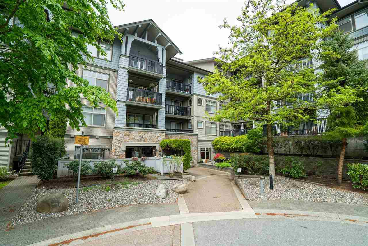 Main Photo: 210 2988 SILVER SPRINGS Boulevard in Coquitlam: Westwood Plateau Condo for sale : MLS®# R2453898