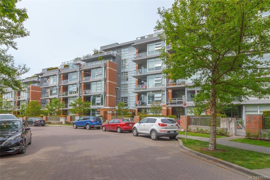 Main Photo: 219 365 Waterfront Cres in Victoria: Vi Rock Bay Condo for sale : MLS®# 839309